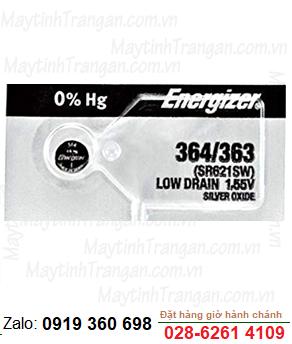 Pin đồng hồ đeo tay 1,55v Silver Oxide Energizer 364, SR621SW chính hãng Made in USA