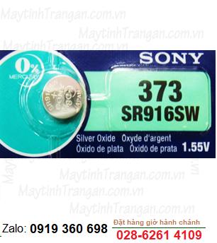Pin đồng hồ đeo tay Sony SR916SW - 373 silver oxide 1.55V chính hãng thay pin đồng hồ các hãng