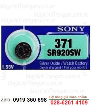 Pin đồng hồ đeo tay 1,55v Silver Oxide Sony SR920SW-371 chính hãng - thay pin đồng hồ các loại