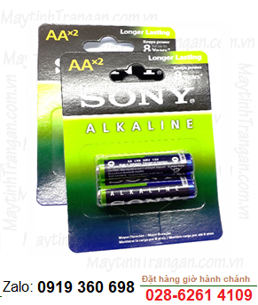 Sony AM3-LR6; Pin AA 1.5v Alkaline  Sony AM3-LR6 Made in Indonesia