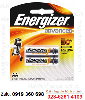 Energizer X91BP2; Pin AA 1.5v Energizer X91BP2 Advance Made in Sigapore