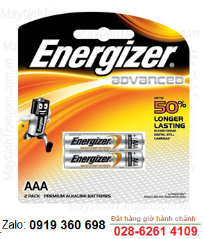 Energizer X92-BP2; Pin AA 1.5v Energizer X92-BP2 Advance (Made in Singapore)