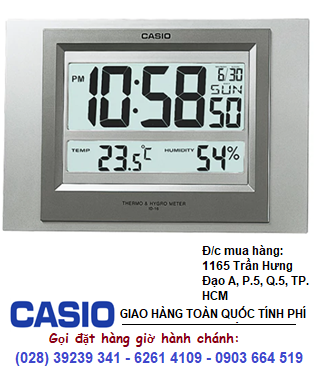 Đồng hồ Treo tường  Để Bàn Casio ID-16S-8DF chính hãng| CÒN HÀNG