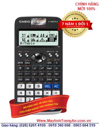 Casio FX-580VN X, Máy tính học sinh mang vào phòng thi Casio FX-580VN X chính hãng _Bảo hành 7 năm| CÒN HÀNG