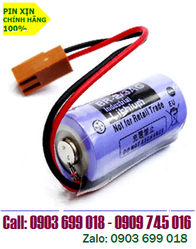 PANASONIC BR-2/3AG; Pin Panasonic BR-2/3AG lithium 3V 2/3A 1450mAh _Made in Japan