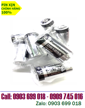 PANASONIC CR123A; Pin Panasonic CR123A (CR17345) Industrial  2/3A 1550mAh Lithium 3V