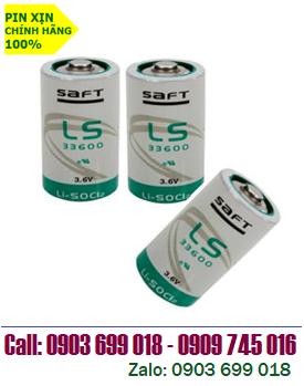 SAFT LS33600; Pin SAFT LS33600 - size D lithium 3.6V -17000mAh chính hãng _Xuất xứ PháP