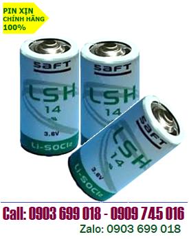 SAFT LSH14; Pin SAFT LSH14 lithium 3.6V size C - 5500mAh nuôi nguồn PLC/CNC chính hãng _Xuất xứ Pháp