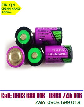 TADIRAN TL-2150; Pin Tadiran TL-2150 lithium 3.6V 1/2AA 950mAh chính hãng _Xuất xứ Israel