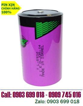 TADIRAN TL-5930; Pin Tadiran TL-5930 lithium 3.6V size D - 19000mAh nuôi nguồn PLC/CNC chính hãng _Xuất xứ Israel