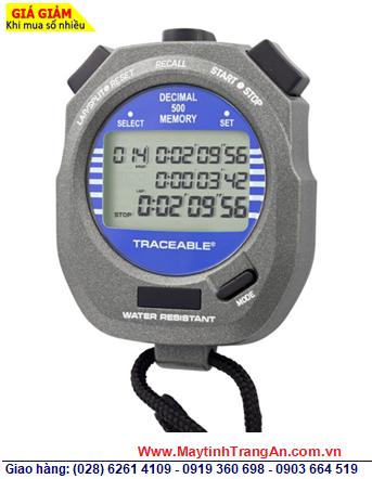 Traceable 1031; Đồng hồ bấm giây Đếm Tiến và Đếm lùi với 500 Laps 1031 Traceable@Decimal Stopwatch chính hãng