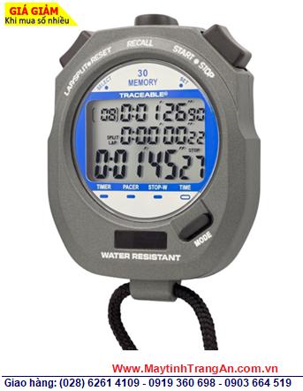 Traceable 1034 _Đồng hồ bấm giây 1034 Traceable® Dual-Display Digital Stopwatch, Độ chính xác 0.0005% _Đã được hiệu chuẩn tại Mỹ