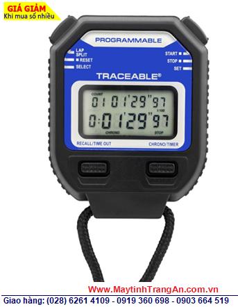 Traceable 1048; Đồng hồ bấm giấy Đếm tiến - Đếm lùi và có chế độ Lặp lại Repeat 1048 Traceable® Stopwatch/Repeat chính hãng Traceable USA  Đã được hiệu chuẩn tại Mỹ