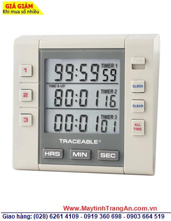 Traceable 5000 _Đồng hồ đếm lùi đếm tiến 03 kênh 5000 Traceable®Three-Channel Alarm Timer _Đã được hiệu chuẩn tại Mỹ