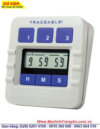 Traceable 5002 _Đồng hồ đếm lùi đếm tiến 03 kênh 5002 Traceable® Original Lab Timer _Đã được hiệu chuẩn tại Mỹ _Bảo hành 1 năm