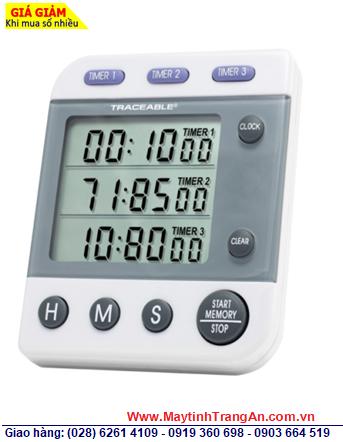 Traceable 5008 _Đồng hồ đếm lùi đếm tiến 03 kênh 5008 Traceable® Three-Line Alarm Timer _Đã được hiệu chuẩn tại Mỹ