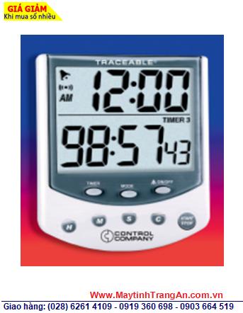 Traceable 5009 _Đồng hồ đếm lùi đếm tiến 03 kênh 5009 Traceable® Big-Foot Timer _Đã được hiệu chuẩn tại Mỹ _Bảo hành 1 năm