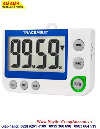 Traceable 5013 _Đồng hồ đếm Lùi đếm tiến 03 kênh Control 5013 Traceable® Flashing LED Alert Big-Digit Alarm Timer _Đã được hiệu chuẩn tại Mỹ