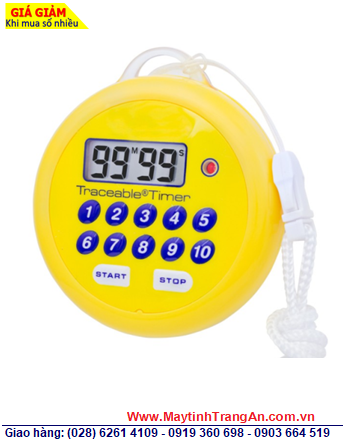 Traceable 5036 _Đồng hồ bấm giây đếm lùi đếm tiến 5036 Traceable® Water-Resistant, Flashing Timer