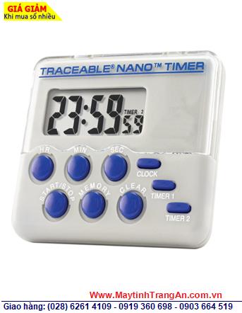 Traceable 5132 _Đồng hồ Bấm giờ đếm lùi đếm tiến 02 kênh 5132 Traceable® Nano™ Timer _Đã được hiệu chuẩn tại Mỹ (USA)