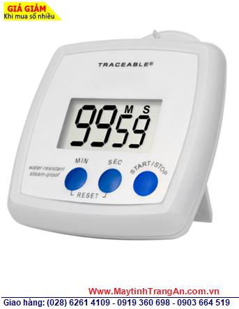 Traceable 5200 _Đồng hồ Đếm lùi cài đặt hẹn giờ 5200 Traceable® Water-Resistant/Steam-proof Timer _Đã hiệu chuẩn tại Mỹ